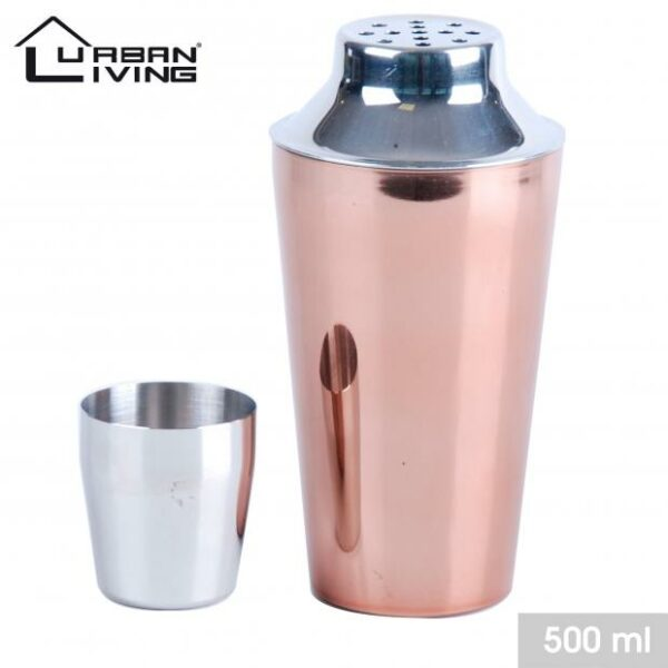 Shaker à cocktail en inox 500 ml